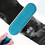 Fur Remover Lint Remover Pet Hair Remover with Self-Cleaning Base Double-Sided Dog Hair Remover & Cat Hair Remover for Clothes & Furniture