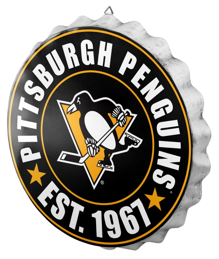 Pittsburgh Penguins 2016 Bottle Cap Wall Sign by FOCO