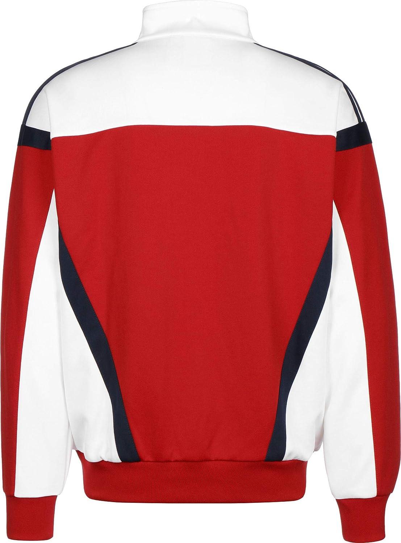 adidas Herren Classics Tt Sweatshirt scarlet/White