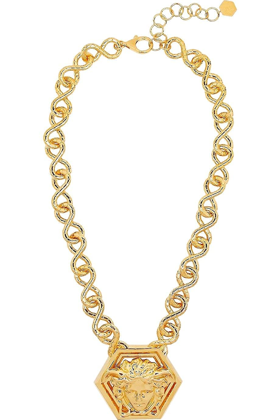 7810d608 Versace by Haas Brothers Large Medusa Pendant Necklace, One Size ...