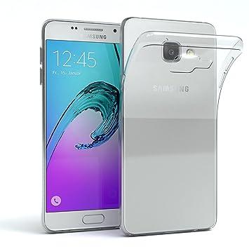 EAZY CASE Hülle für Samsung Galaxy A3 (2016) Schutzhülle Silikon, Ultra dünn, Slimcover, Handyhülle, Silikonhülle, Backcover,