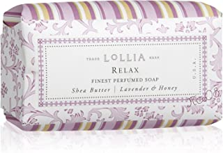product image for LOLLIA Relax Finest Perfumed Shea Butter Soap, 5 oz