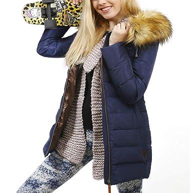Damen YUWELL Wintermantel mit Daunenjacke Winterjacke AR354jqL
