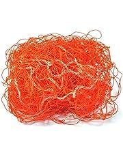 GLOGLOW Soccer Goal net, rete di ricambio, da calcio Goal post reti per allenamenti Match arancione