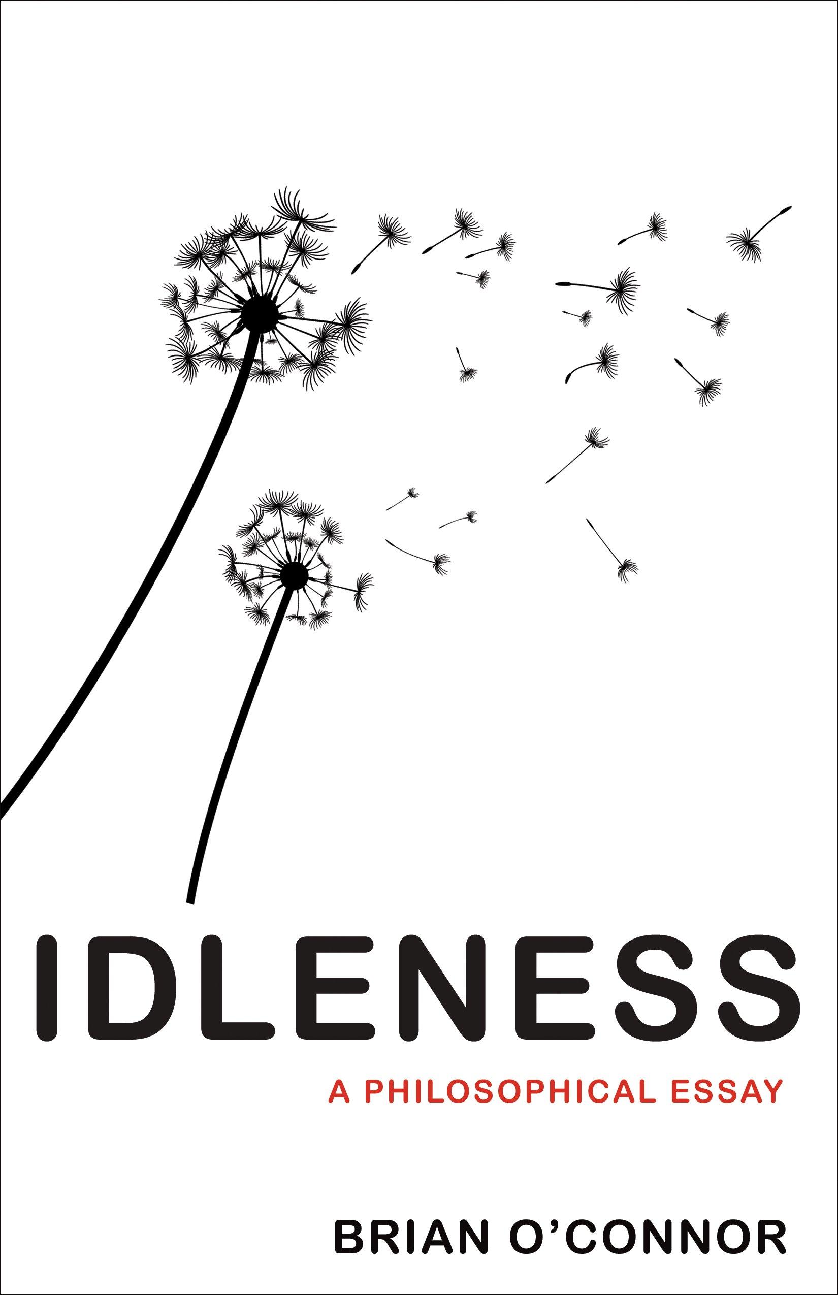 Idleness A Philosophical Essay O Connor Brian 9780691167527 Amazon Com Books