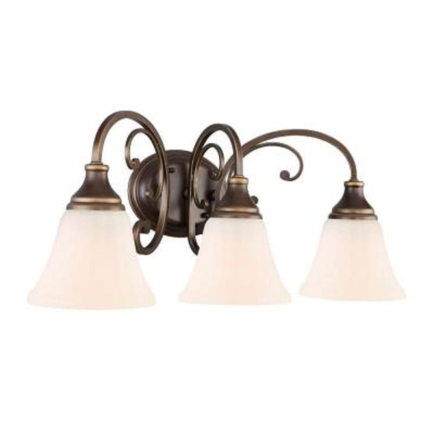 Hampton Bay Vanity Lights Bronze : Hampton Bay Somerset 3-light Bronze Vanity 60%OFF - www.proaluminium.co.za