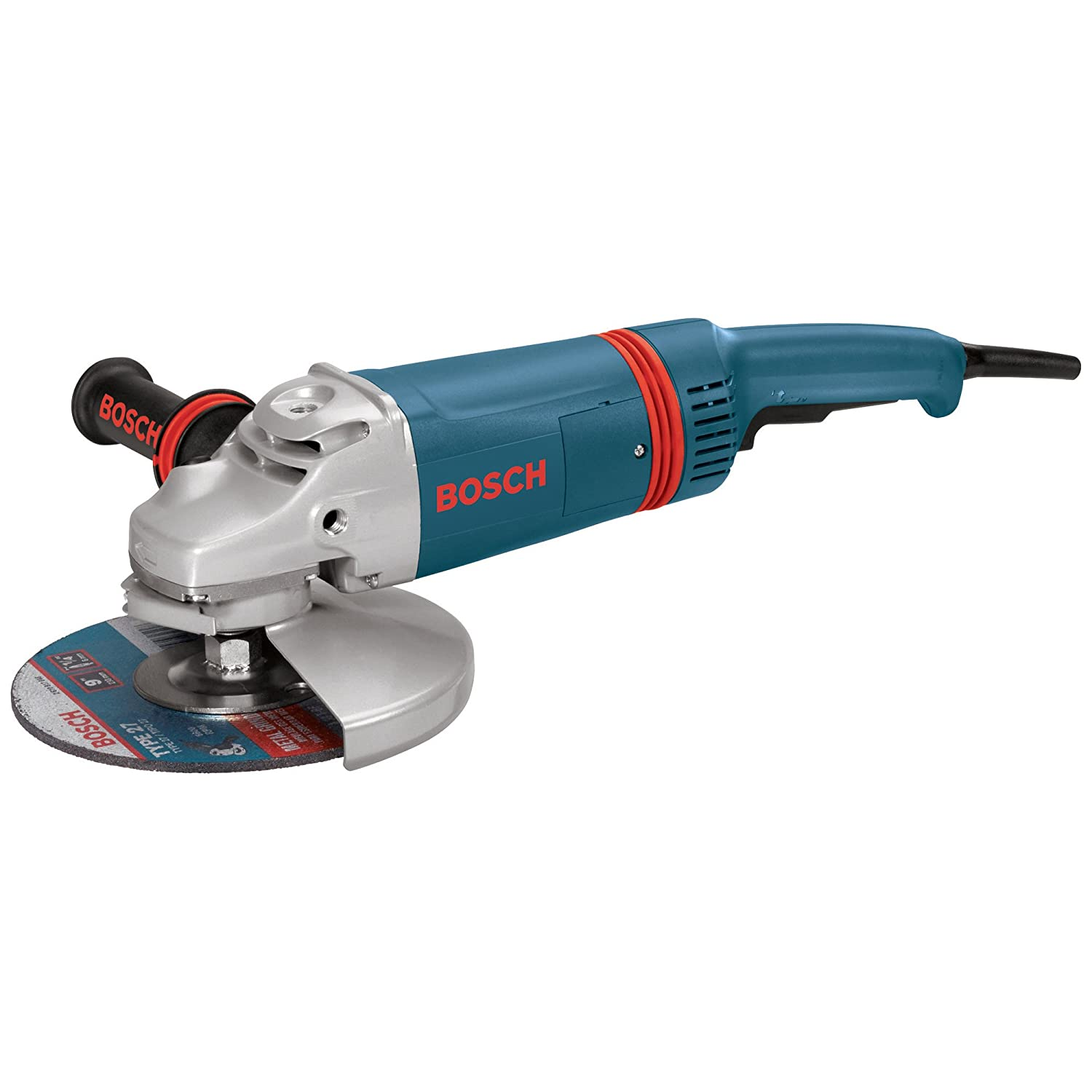 Bosch 1893-6 9 Large Angle Grinder with Rat Tail Handle