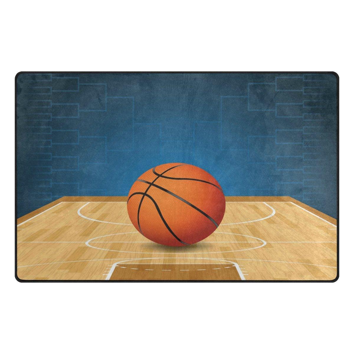 Use7 Alfombra de Baloncesto para Sala de Estar o Dormitorio ...