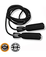 Jump Rope :: Skipping Ropes for Workout and Speed Skip Training :: Best Jumping Rope for Cardio Fitness Exercise :: Includes 2 Bonus E-Books