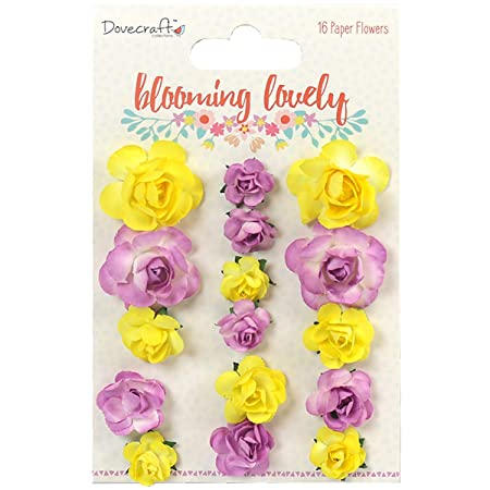 Dovecraft Blooming Lovely Collection Paper Flowers Amazon