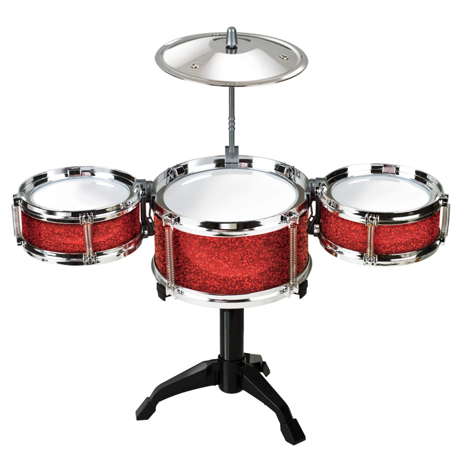 Desktop Drum Set - Red west 2998-red