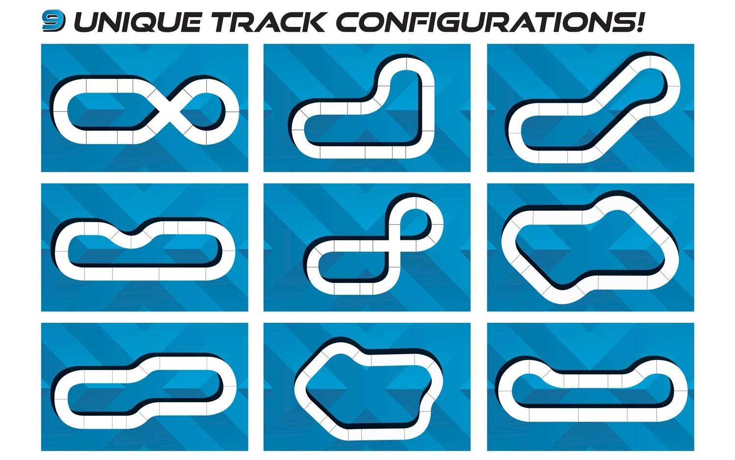 Scalextric C1356T ARC ONE Ultimate Rivals Slot Car Set by Scalextric (Image #4)