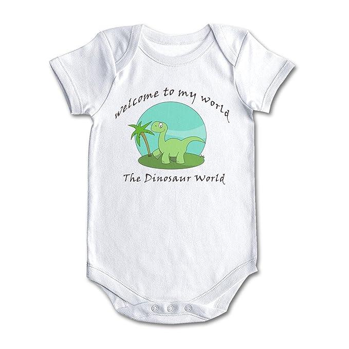 f39da53e7781 Amazon.com  bbabylike The Dinosaur World Green Jungle Cool Design ...