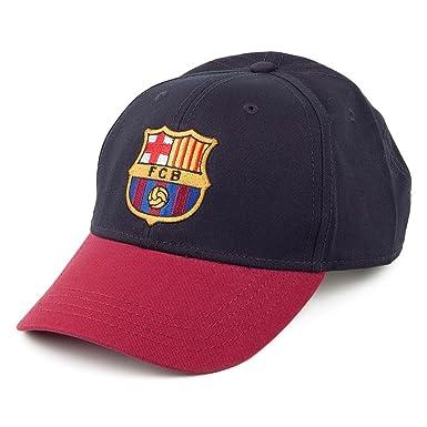 ... united states 4adb5 29fe2 FC Barcelona Core Baseball Cap - Navy  Adjustable ... 650bb750ed
