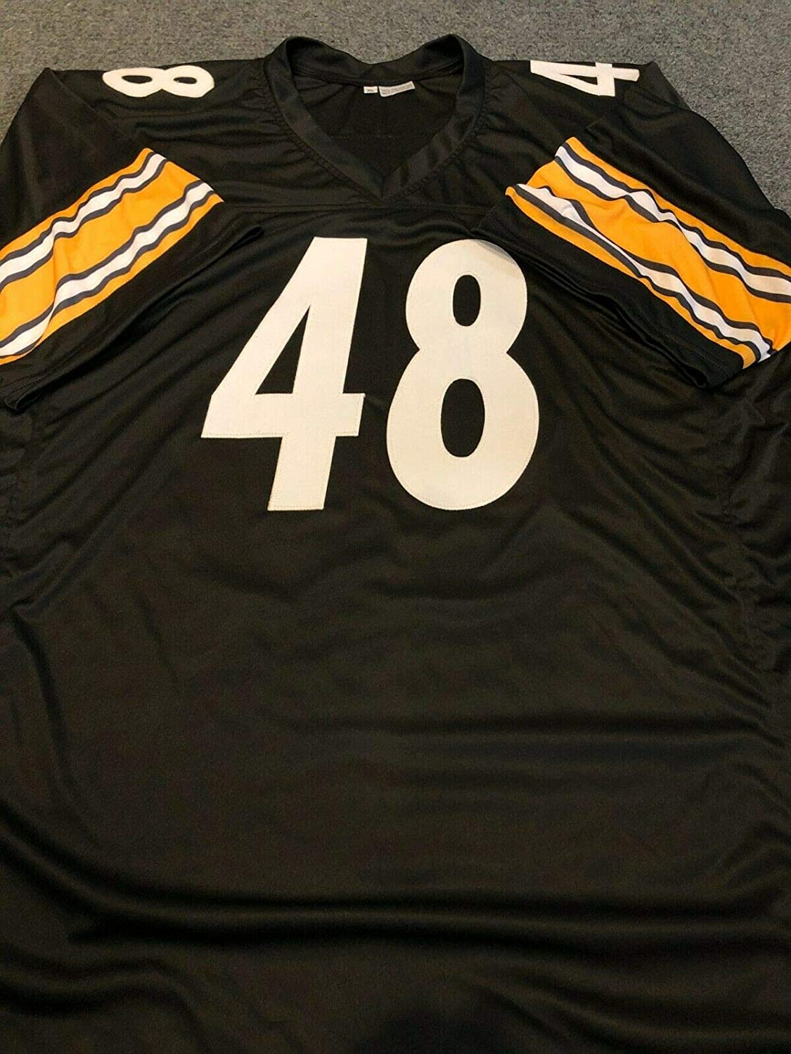 PITTSBURGH STEELERS BUD DUPREE AUTOGRAPHED SIGNED JERSEY BECKETT COA
