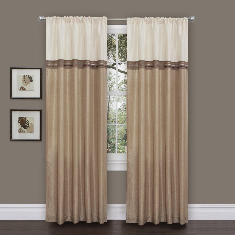 ivory curtains tailored fiona window v lace panels p curtain panel scottish treatment