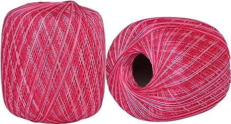 2 bolas de hilo de algodón (48): Amazon.es: Juguetes y juegos