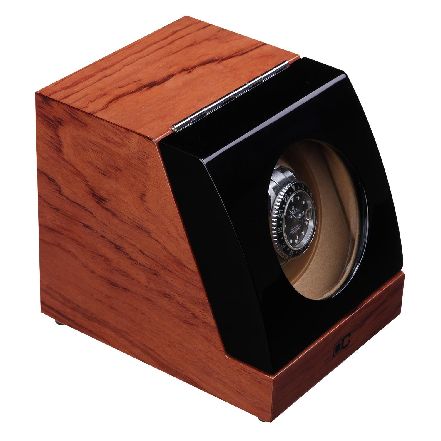 KAIHE-BOX Classic Watch Winders for 1 Watches for automatic Watch Winder Rotator Case Cover Storage H , #1 by KAIHE-BOX (Image #4)
