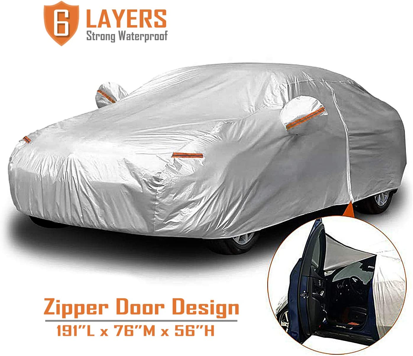 Breathable UV Protection Onward Cover Zone CCC315 Sahara Car Cover Compatible With Volkswagen Fox 2004