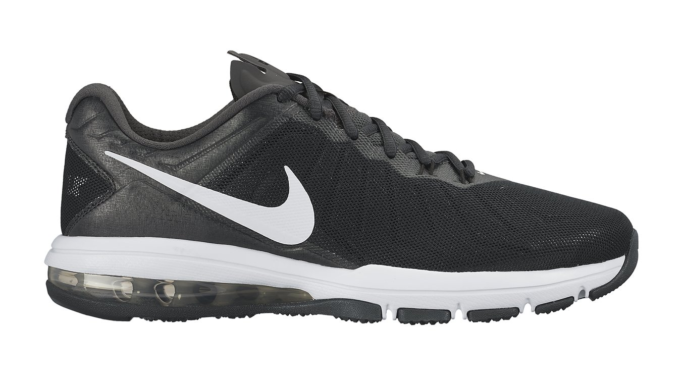 NIKE Men's Air Max Full Ride TR Training Shoe Black/Anthracite/Dark Grey/White Size 10.5 M US by NIKE