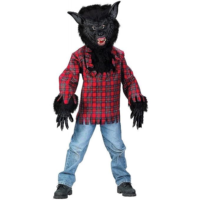sc 1 st  Amazon.com & Amazon.com: Black Werewolf Boy Kids Costume: Clothing