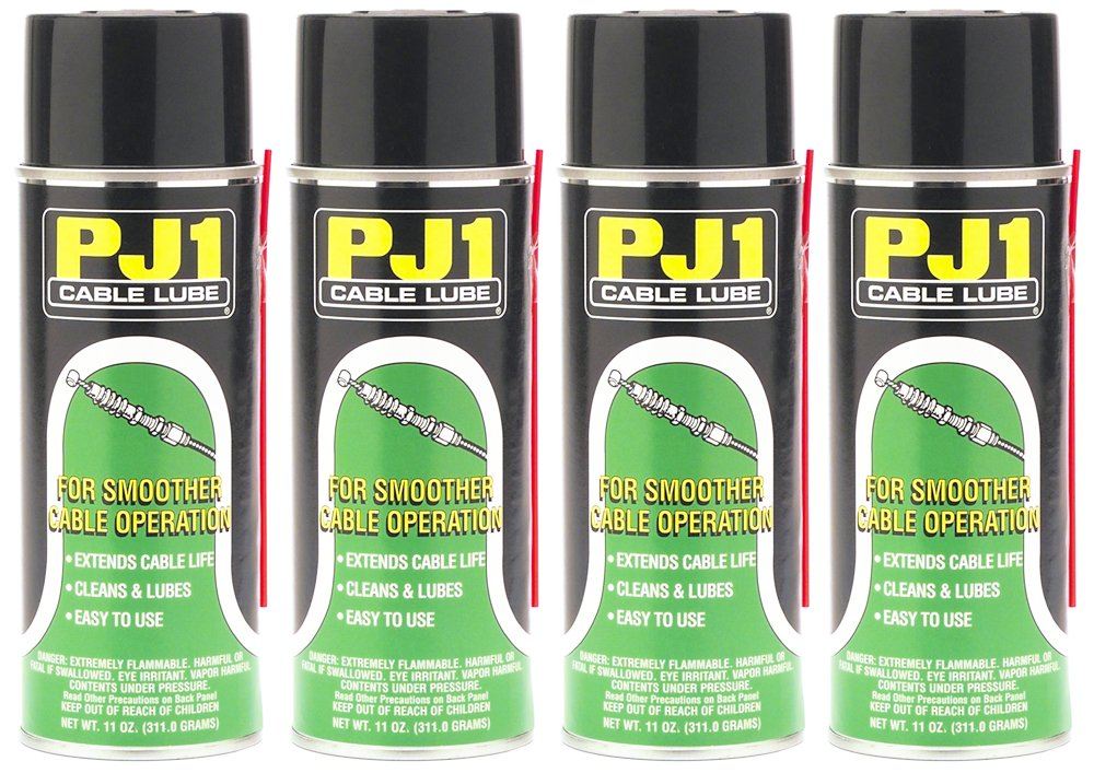 PJ1 1-12-4PK Cable Lube, 44 oz, 4 Pack by PJ1