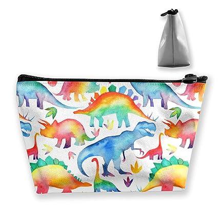 Los dinosaurios colorearon el bolso de maquillaje Bolsas de ...