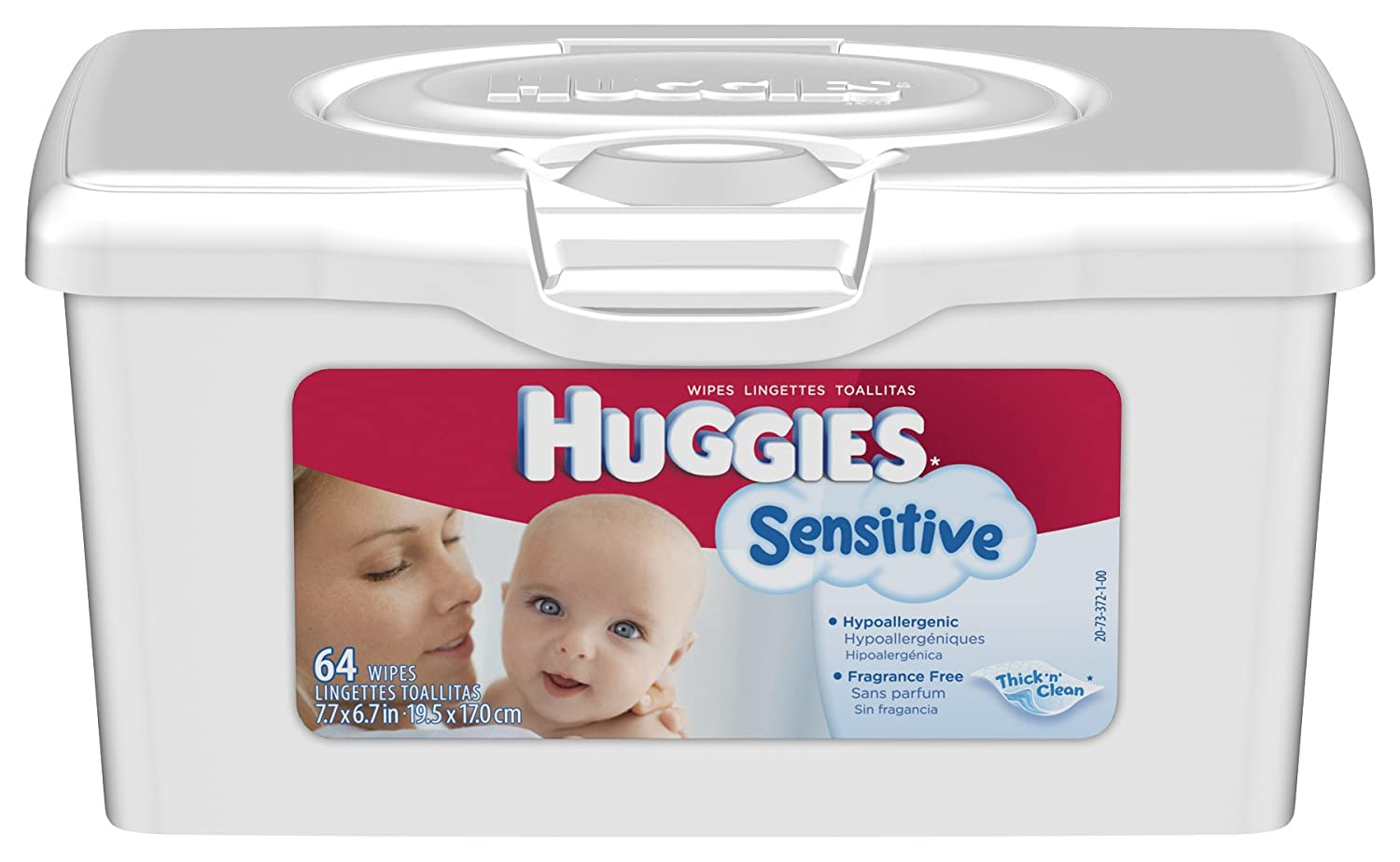 Amazon.com: Huggies Sensitive Baby Wipes, Tub, 64-Count (Pack of 8): Health & Personal Care