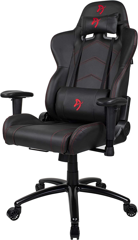 PU Arozzi Gaming Stuhl Inizio schwarz rotes Logo