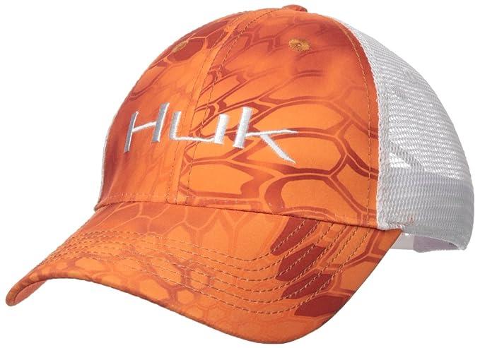 801e961c Image Unavailable. Image not available for. Color: HUK Kryptek Logo Trucker  Cap, Kryptek Orange, One Size