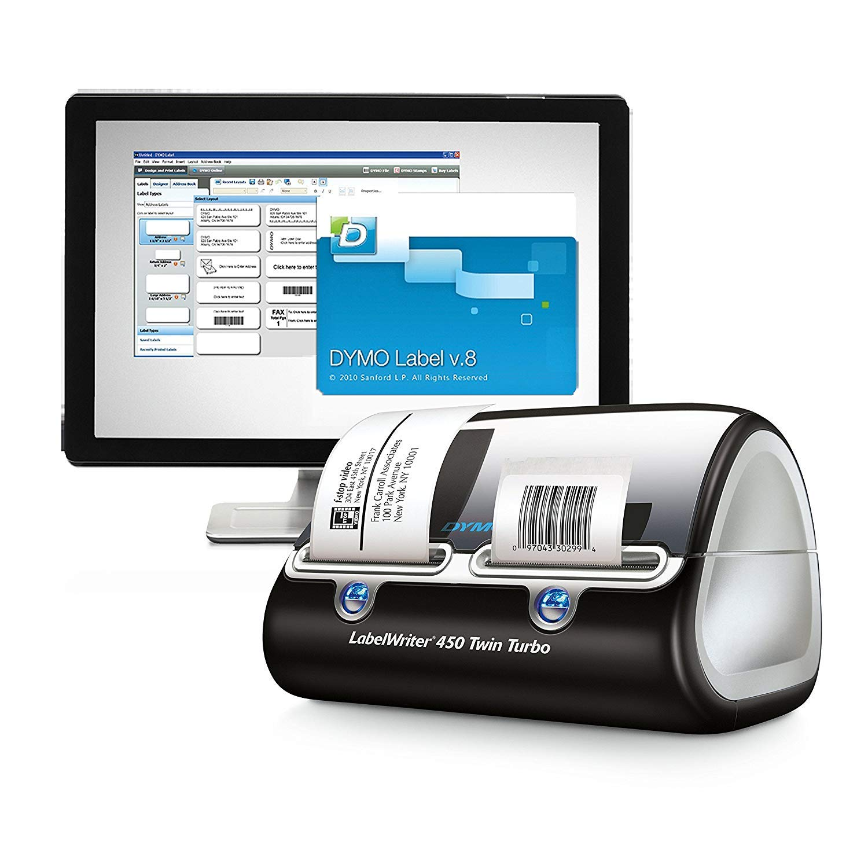 Desktop Mailing Solution w/LabelWriter Twin Turbo PC/Mac, 71 Labels/Min, Sold as 1 Each: Amazon.es: Salud y cuidado personal