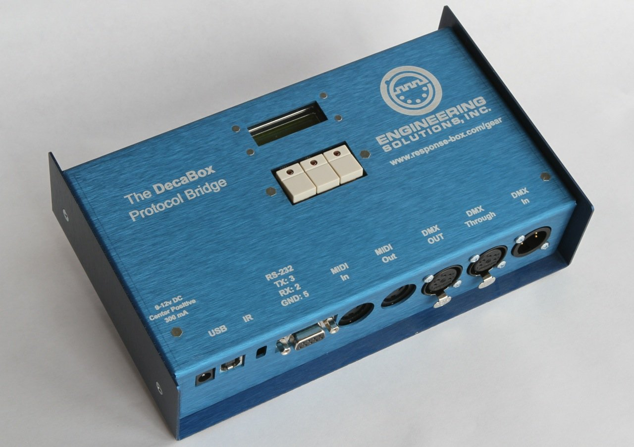 DecaBox MIDI to RS232 Bidirectional Converter by Engineering Solutions Inc