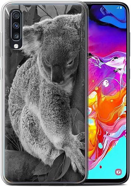 Coque pour Samsung Galaxy A70 2019 Animaux de Zoo Koala Désign ...