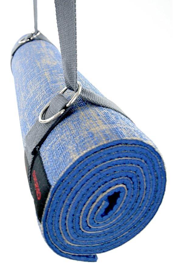 Gran antideslizante Yoga Mat grueso yute Eco Con Correa Por Sundried®