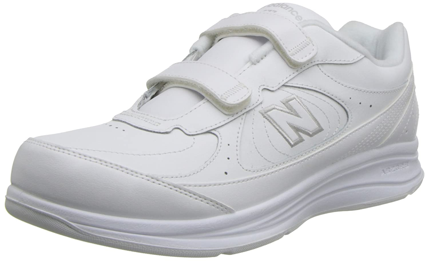 New Balance Men's MW577 Hook and Loop Walking Shoe MW577-Leather-Hook/Loop