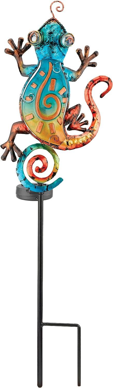 Regal Art &Gift Solar Stake, Gecko