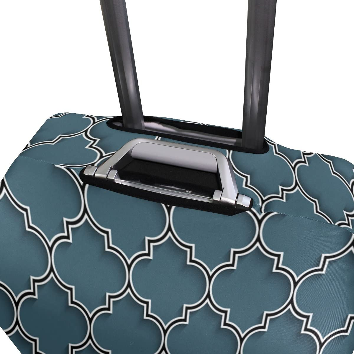 GIOVANIOR 3D Islamic Morocco Style Luggage Cover Suitcase Protector Carry On Covers