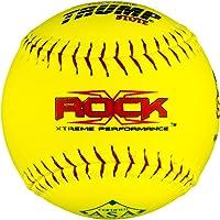 """X-Rock 1 Dozen ASA 12"""" Softballs 52 COR 300 Compression 12 Balls ASA-RP-Y"""