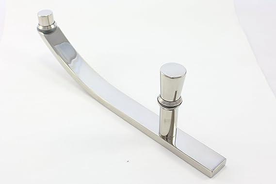 Tirador para mampara de ducha | 200 mm (20 cm) orificio a orificio ...