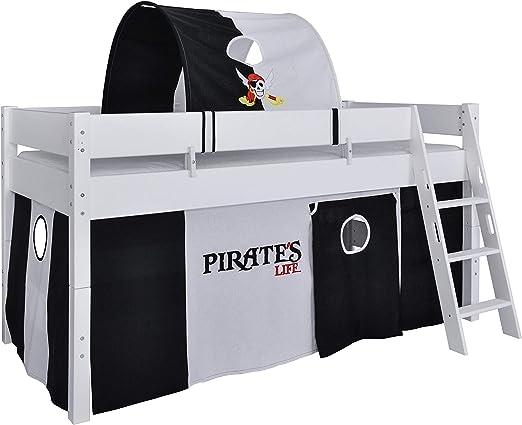 Tenda pirata per letto a castello a soppalco HLS