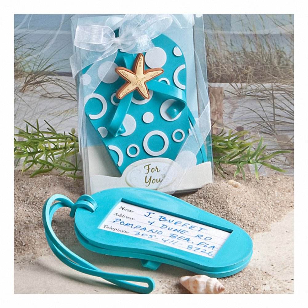 Flip Flop Luggage Tag Favors , 20