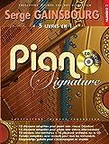 Piano Signature Serge Gainsbourg + CD