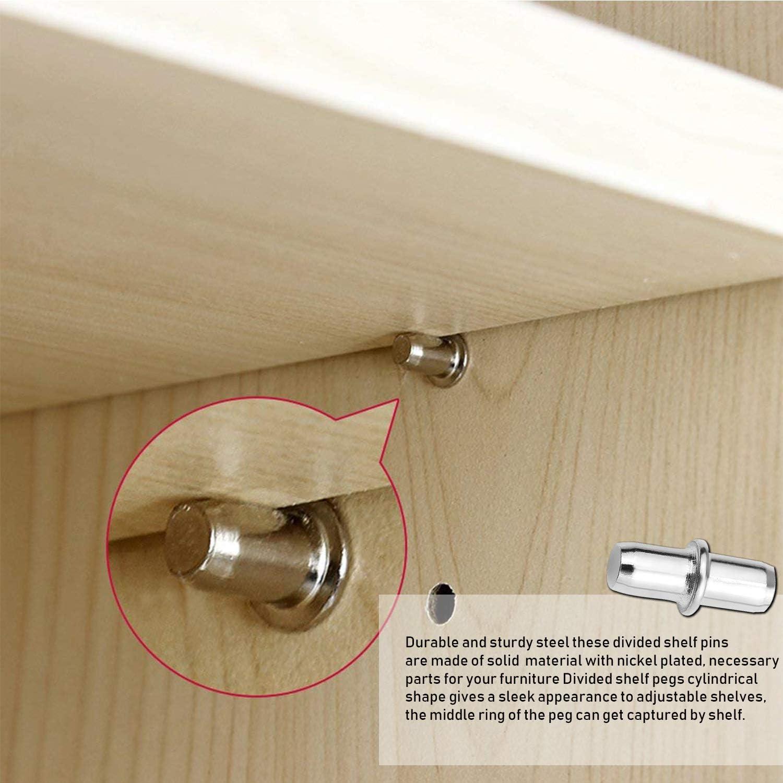 etc Furniture Shelf Holders Pegs Book Shelf Pegs Shelf Support Pins Kit 4 Styles Shelf Supports Pegs Brackets Dowel Pins Shelf Peg with for Cabinet Shelf Pegs