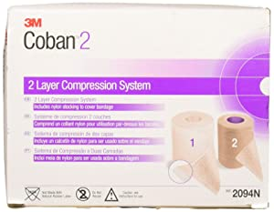 3M Health Care 2094N Coban Compression System (Pack of 8)