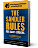 The Sandler Rules For Sales Leaders (English Edition)