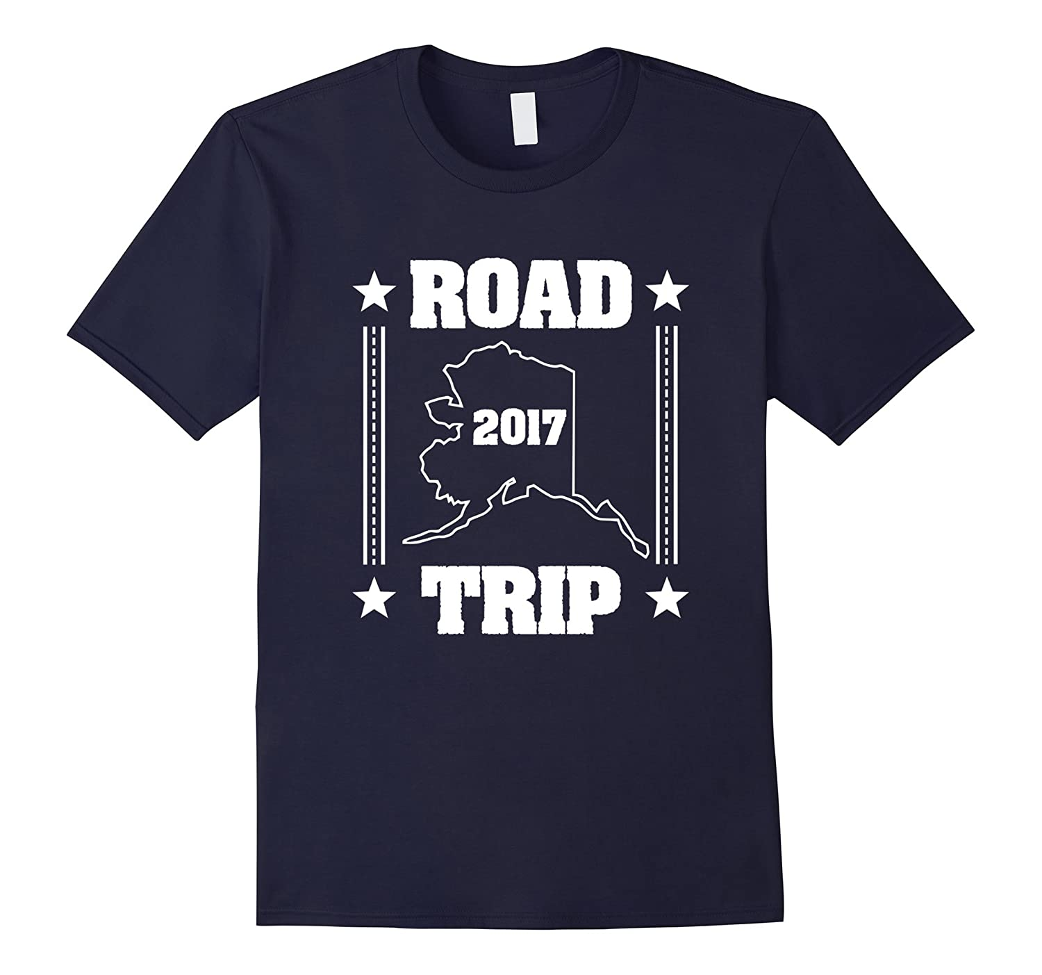 2017 Alaska Road Trip T-Shirt-CD