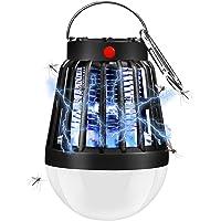 ShinePick Lampe Anti Moustique, Camping Lampe Moustiques Killer Lampe Portable UV LED Tue Mouches Electrique Lampe avec 2200mAh Batterie Rechargeable, Anti Insectes Exterieur en Intérieur