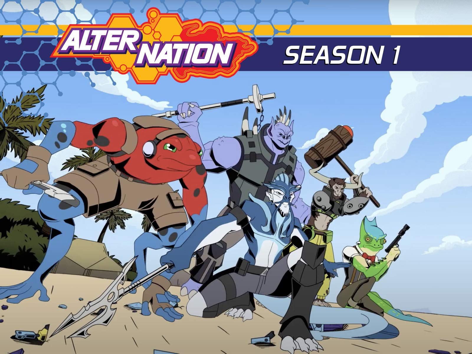 Alter Nation Sabotage's Revenge - Season 1