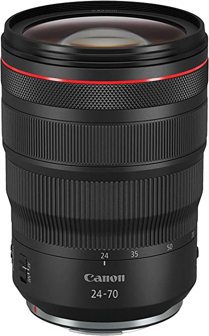 Canon Zoom Lens Rf 24 70 Mm F2 8l Is Usm For Eos R Camera Photo