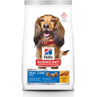 Hill's Science Diet Adult Oral Care Chicken, Rice & Barley Recipe Dry Dog Food for Dental Health, 4 lb Bag